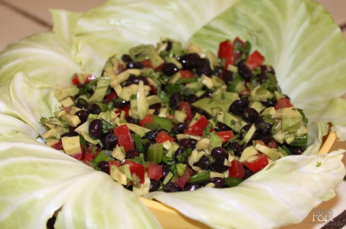 Black beans salad
