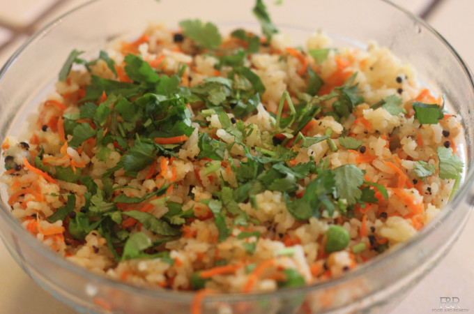 Carrot-Pepper Rice
