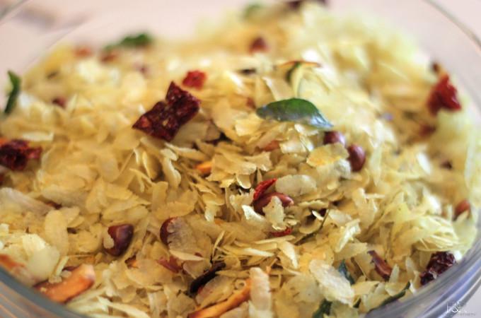 Chivda Recipe, Poha Chiwda | Crispy – Spicy Avalakki