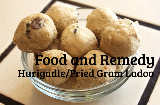 Hurigadale Unde/ Fried Gram Laddu