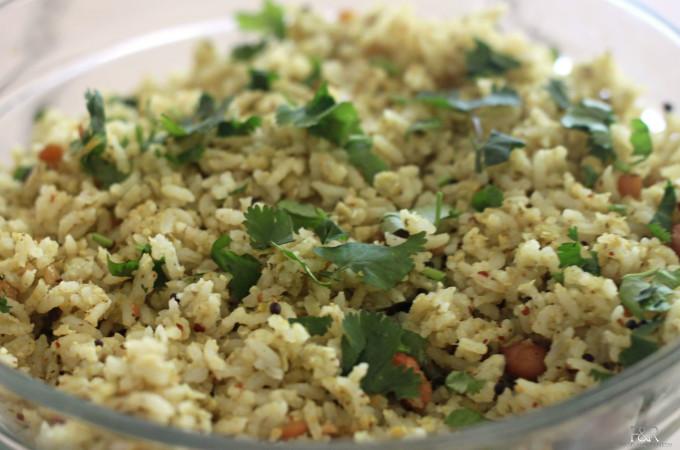 Raw Mango Rice / Maavinakaayi Anna