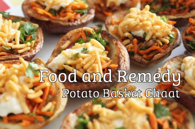 Potato Chaat Basket