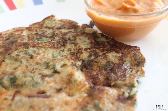 Quinoa Dosa (Quinoa Pancake)