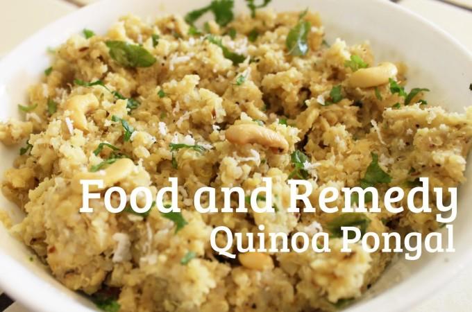 Quinoa Pongal / Spicy Quinoa Pudding