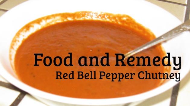 Red Bell Pepper Chutney | Capsicum Chutney