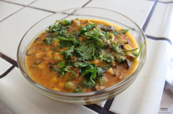 Mushroom Masala Recipe | Mushroom Gravy