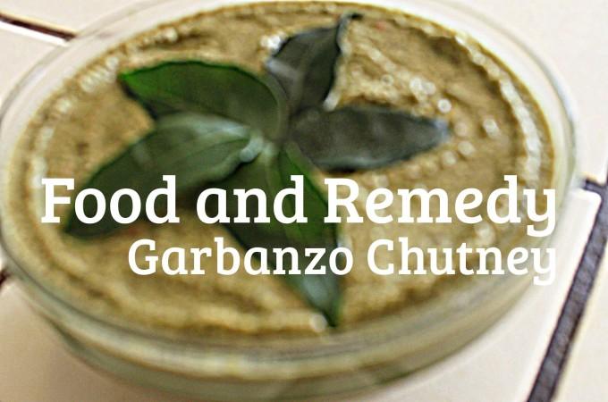 Garbanzo Beans Chutney / Spread