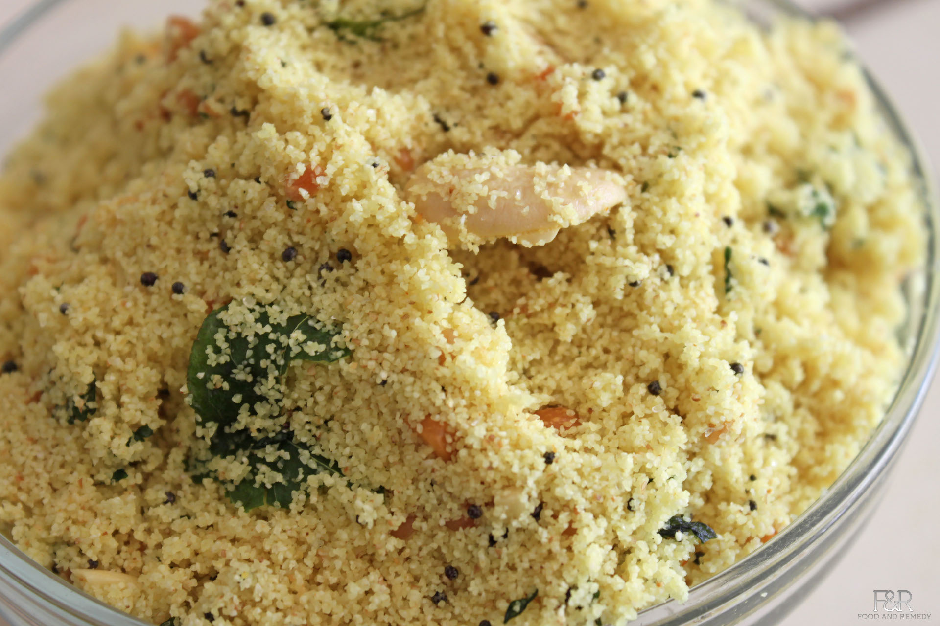 How To Make Instant Upma Mix At Home