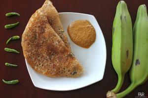 How to make Plantain dosa