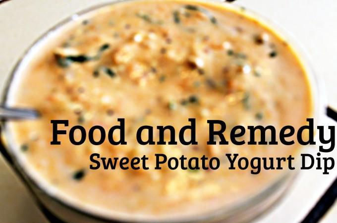 Sweet Potato Yogurt Dip