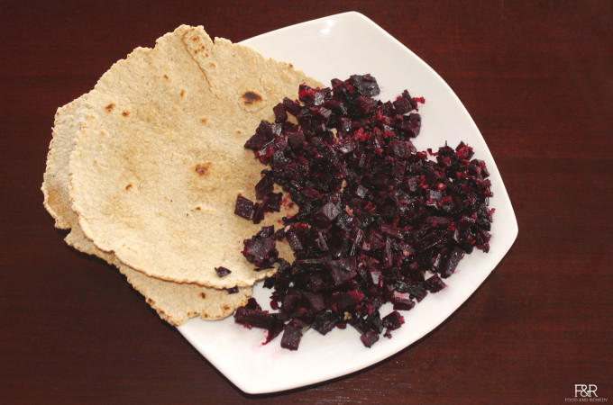 Beetroot Curry with Nutritious Beet Greens