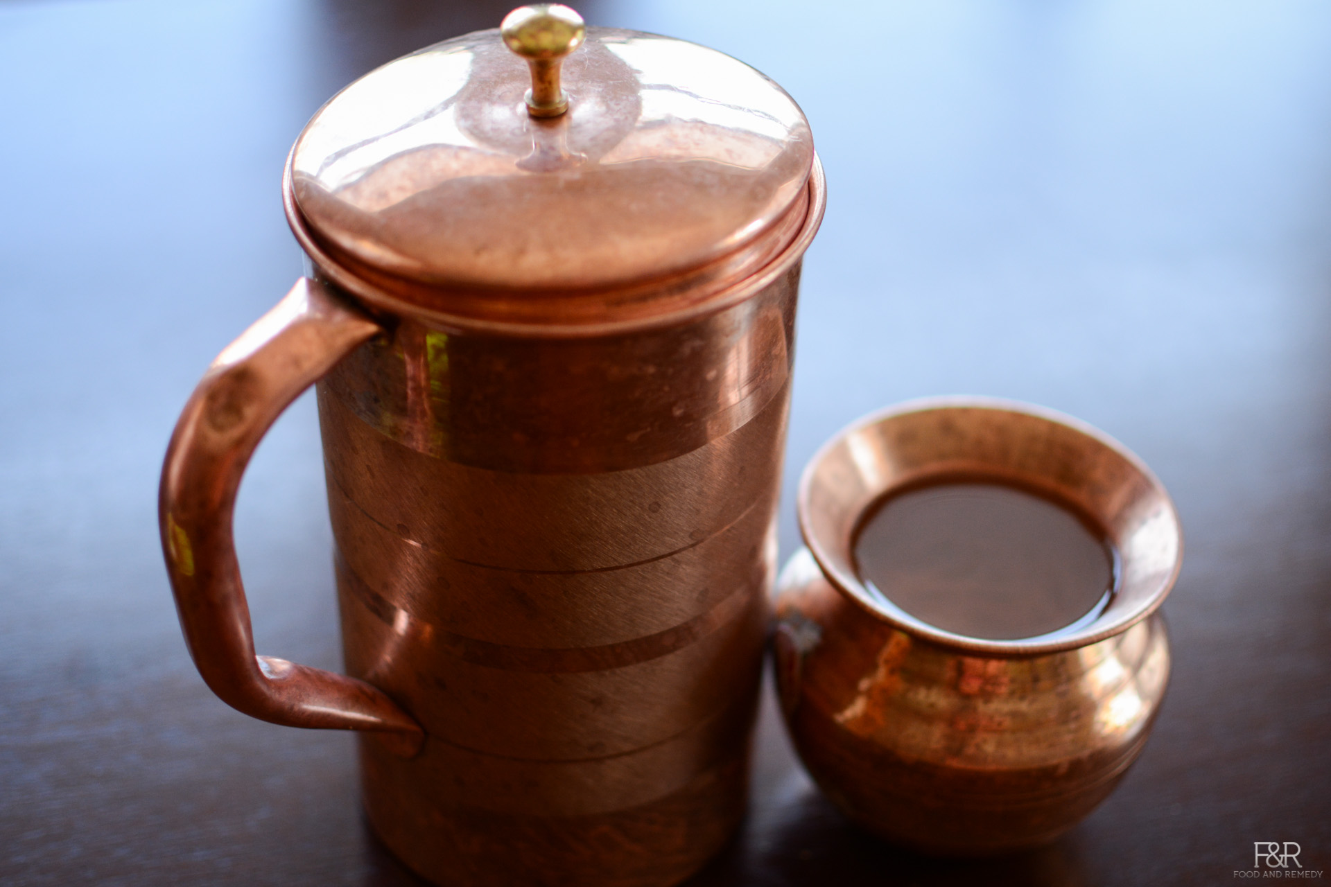 Health benefits of drinking copper vessel water Food and Remedy