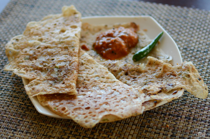 Rava Dosa and Rava Onion Dosa