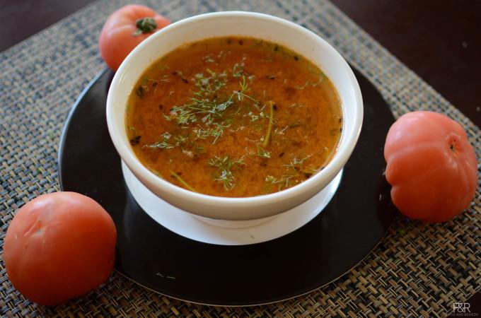 Tomato Rasam | Rasam without toor dal | Rasam recipes