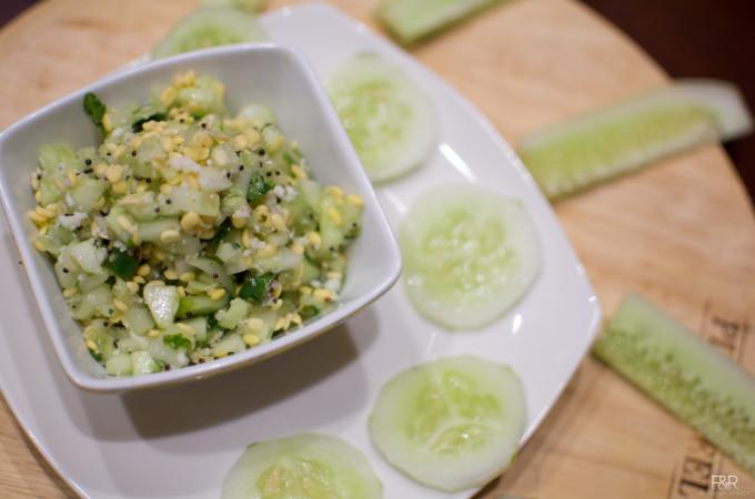 Cucumber Salad | Southekayi Kosambari