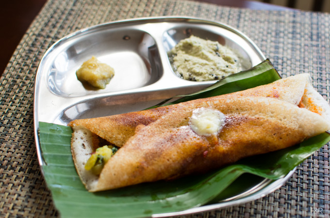 Masala Dosa recipe, how to make the Batter and Red Chutney