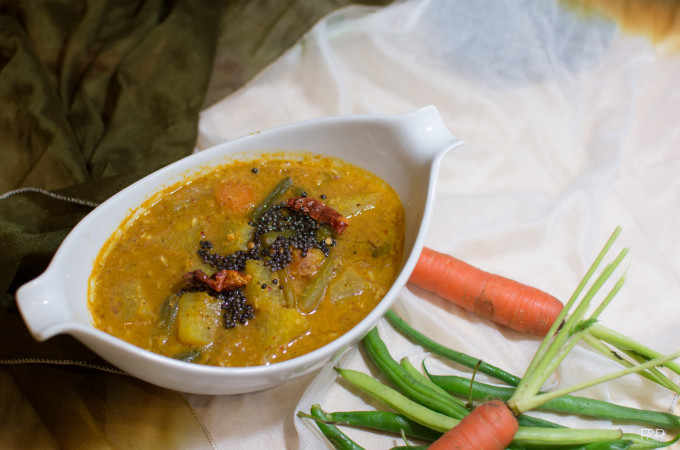 Mixed vegetable sambar recipe |  how to make Sambar recipes