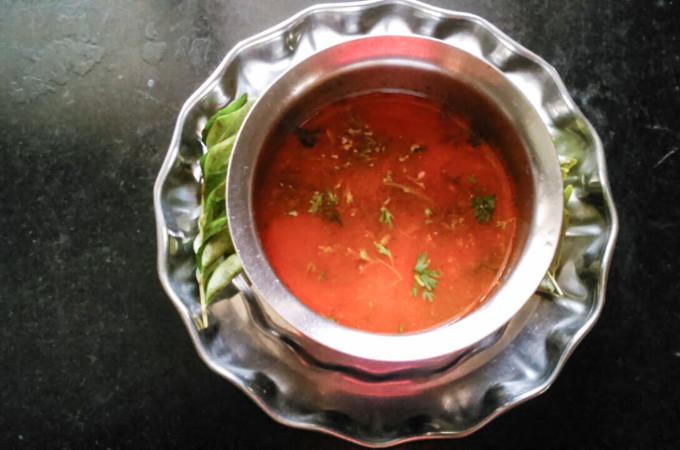 Tomato Rasam Recipe, variety 2