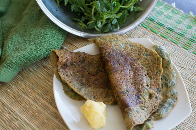 Methi Leaves Dose Recipe, How to Make Dosa Recipe