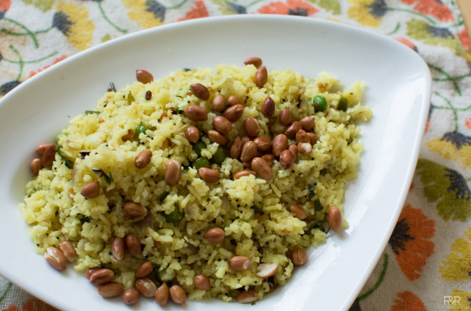 Avalakki Oggarane  Recipe, How to make Onion Poha Recipe