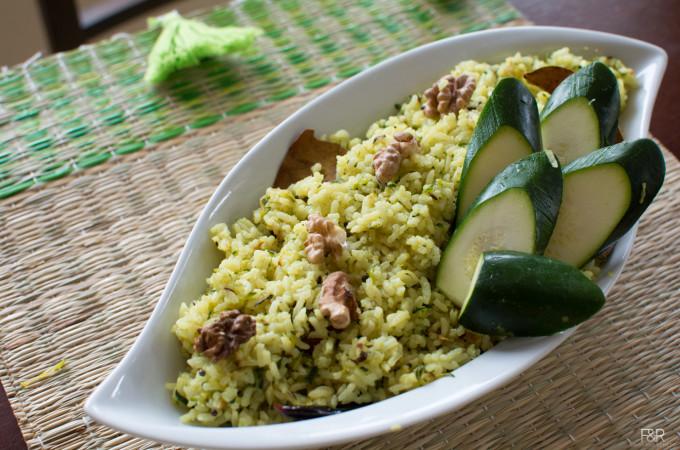 Zucchini Rice Recipe, How to Make Rice  Dishes Recipes