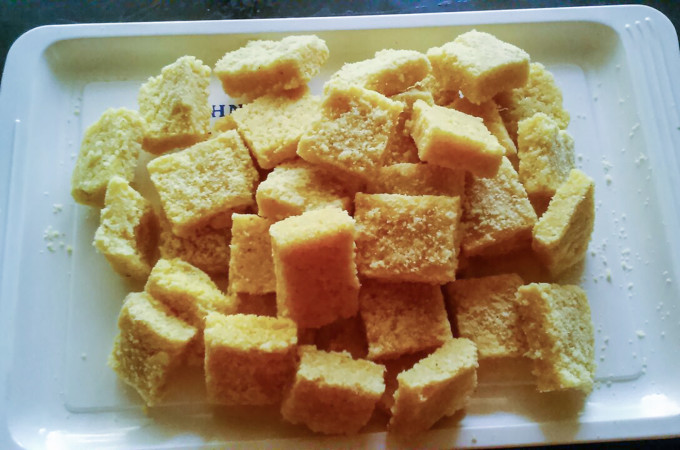 Pineapple Coconut Burfi Recipe