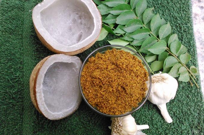 Garlic Chutney Powder, Chutney Powder recipes