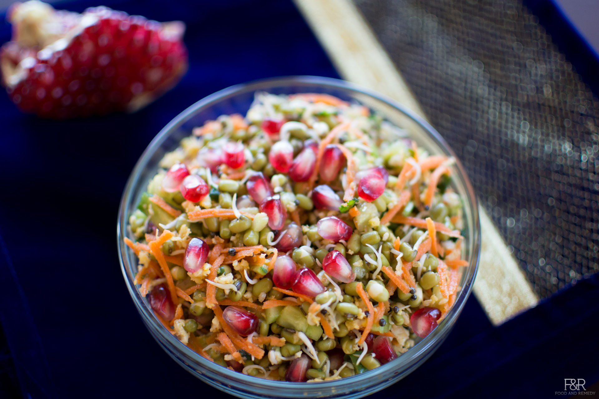 Sprouted Mung Beans Moong Salad Recipe Food And Remedy