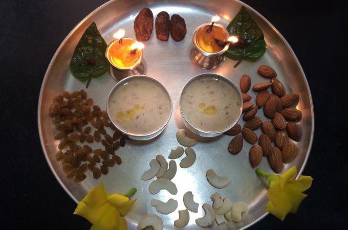 Dates Kheer   Kharjura Payasam Recipe
