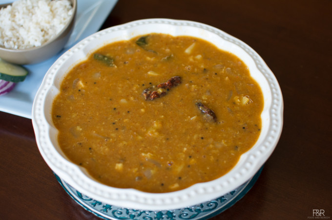 Potato Onion Sambar