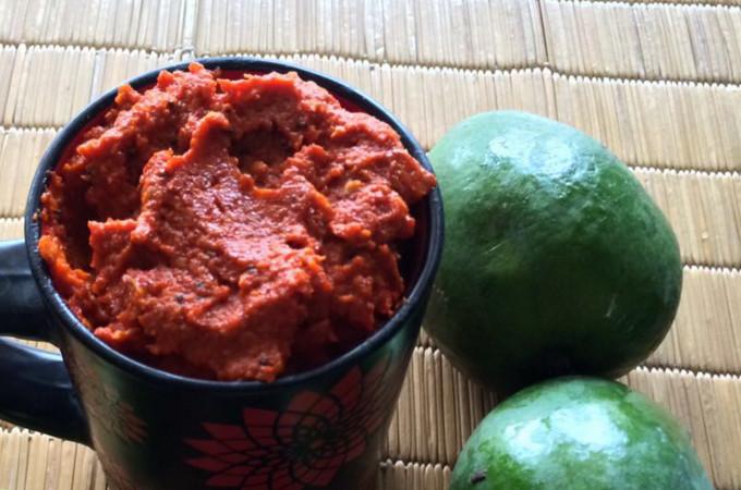 Green Mango Thokku
