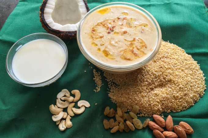 Cracked Wheat Payasam | Broken Wheat Kheer | Kheer Recipes