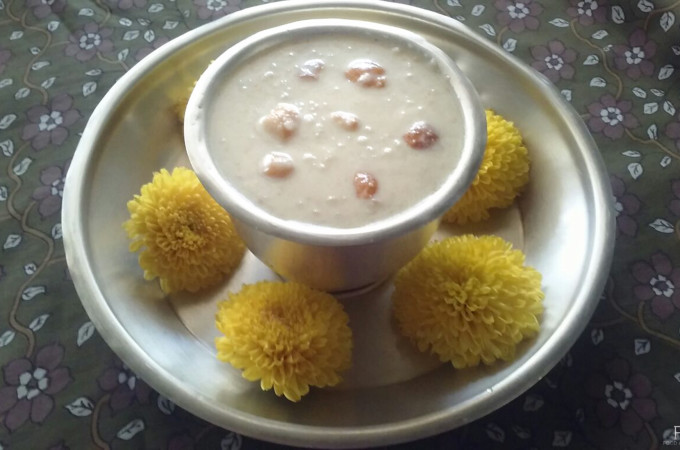 Foxtail Millet Kheer | Millet recipes