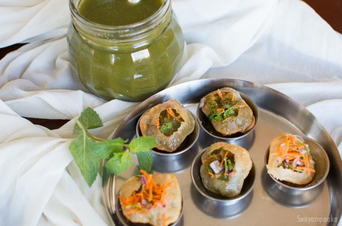 Pani Puri Recipe | How to Make Pani Puri Recipe | Karnataka Style Pani Puri