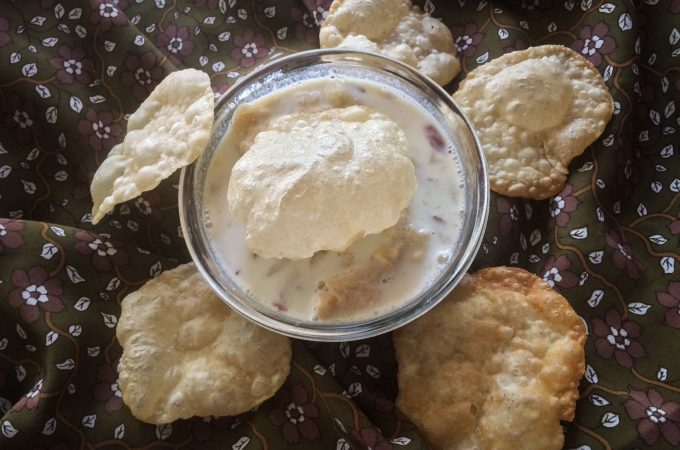 Halu Holige | Poori Payasa Recipe