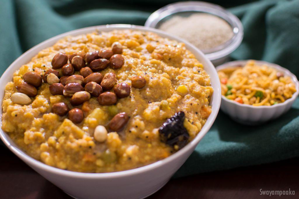 Siridhanya Recipes Millet Bisibelebath Barnyard Millet