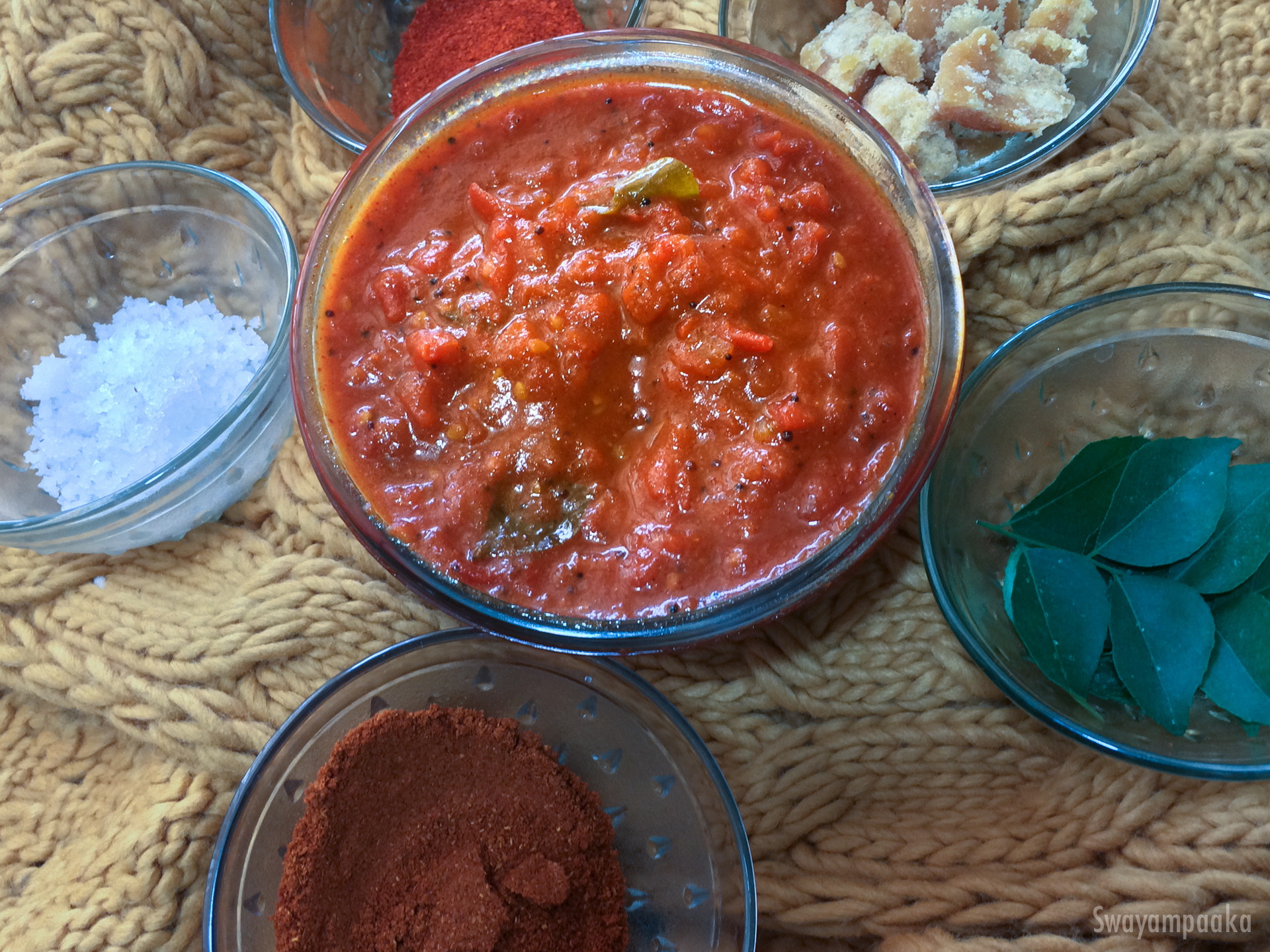 Tomato gojju easy side dish recipe food and remedy for Easy side dishes to make