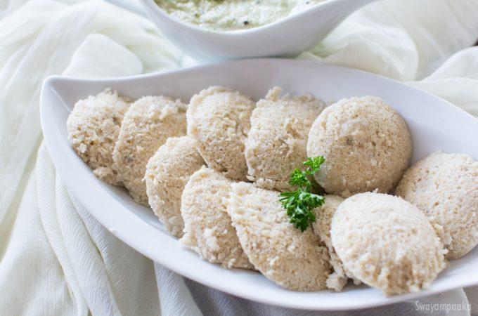 Millet Idli Recipe   Siridhanya recipes