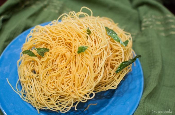 Plain Sev Recipe | Ompudi Recipe