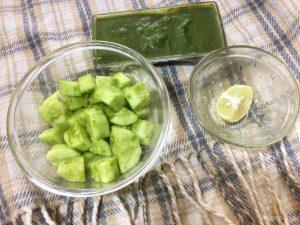 Cucumber Chaat Recipe