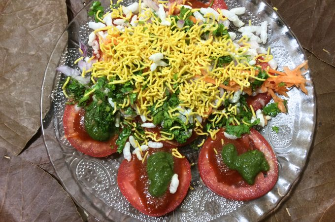 Tomato Masala Chaat | Karnataka chaat recipes