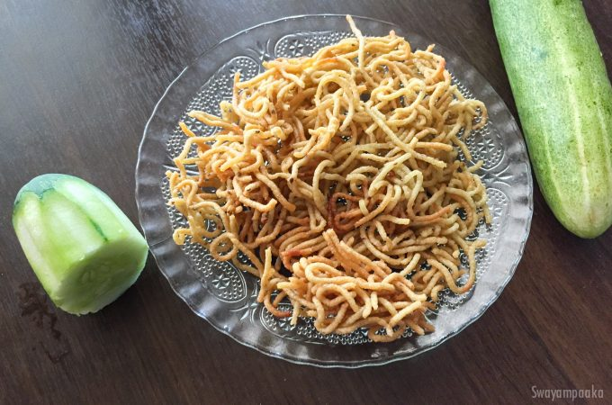 Cucumber Sev | South Indian Snack Recipes