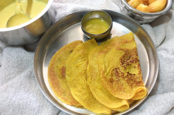 Jackfruit Dosa Recipe | Breakfast Recipes