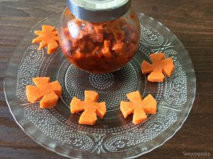 Instant carrot pickle