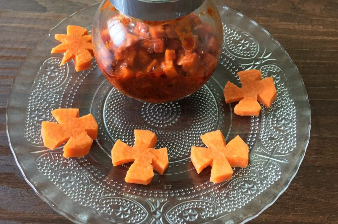 Carrot Pickle | Instant Carrot pickle recipe