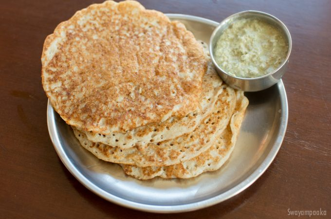 Oats Set dosa Recipe