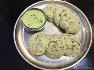 Cucumber Idli