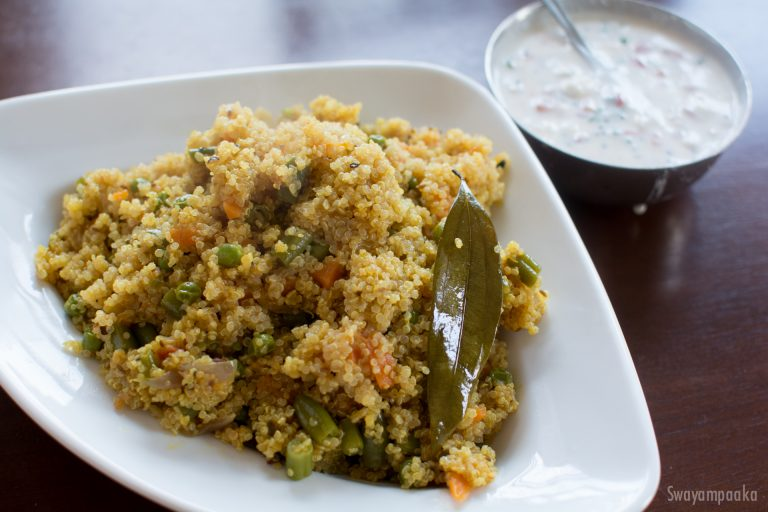 quinoa pulav