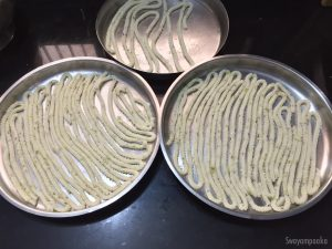 Rice flour sandige