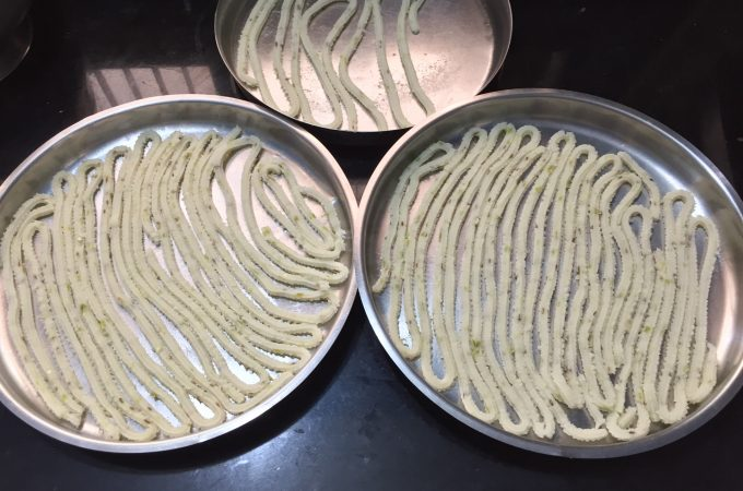 Rice flour Sandige | Akki sandige